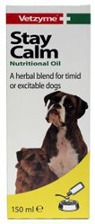VETZYME STAY CALM FOR DOGS - 150ML