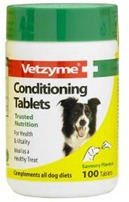 VETZYME CONDITIONING TABLETS FOR DOGS - 100