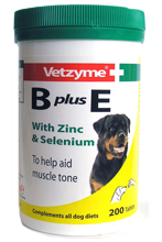 VETZYME B PLUS E TABLETS FOR DOGS - 200