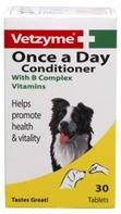 VETZYME ONCE A DAY TABLETS FOR DOGS - 30
