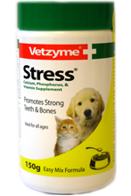 VETZYME STRESS POWDER FOR DOGS AND CATS - 150g