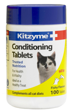 KITZYME CONDITIONING TABLETS FOR CATS - 100