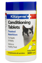 KITZYME CONDITIONING TABLETS FOR CATS - 300