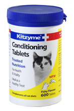 KITZYME CONDITIONING TABLETS FOR CATS - 600