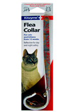 KITZYME REFLECTIVE FLEA COLLAR FOR CATS