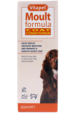VITAPET MOULT FORMULA COAT CONDITIONER FOR DOGS - 450ML