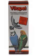 VITAPET FEATHER & ENERGY FORMULA FOR BIRDS - 150ML