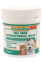 EXMARID TEA TREE ANTIBACTERIAL BALM - 75G