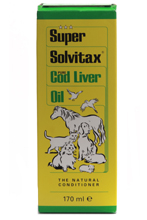 SUPER SOLVITAX PURE COD LIVER OIL - 170ML